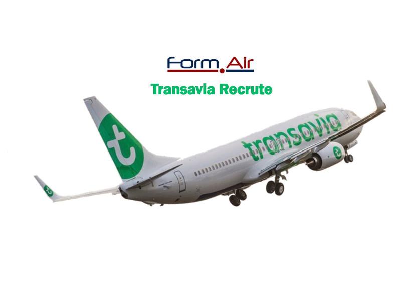Recrutement Hôtesse de l'air ou steward Transavia