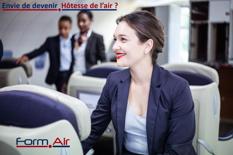 Prochaine formation Hôtesse de l'air/Steward en Novembre