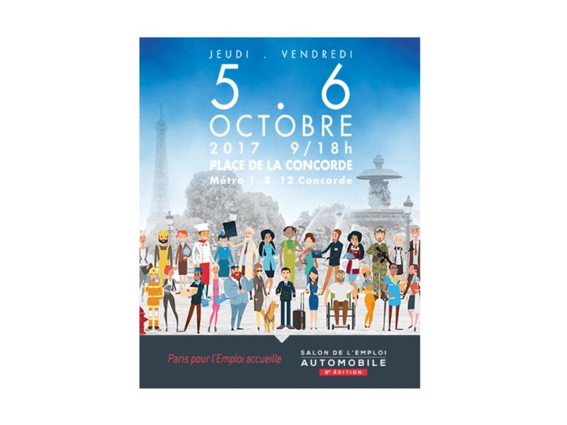 SALON DE L'EMPLOI : 5 et 6 octobre