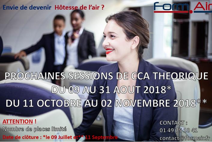 Prochaine Session C.C.A Théorique