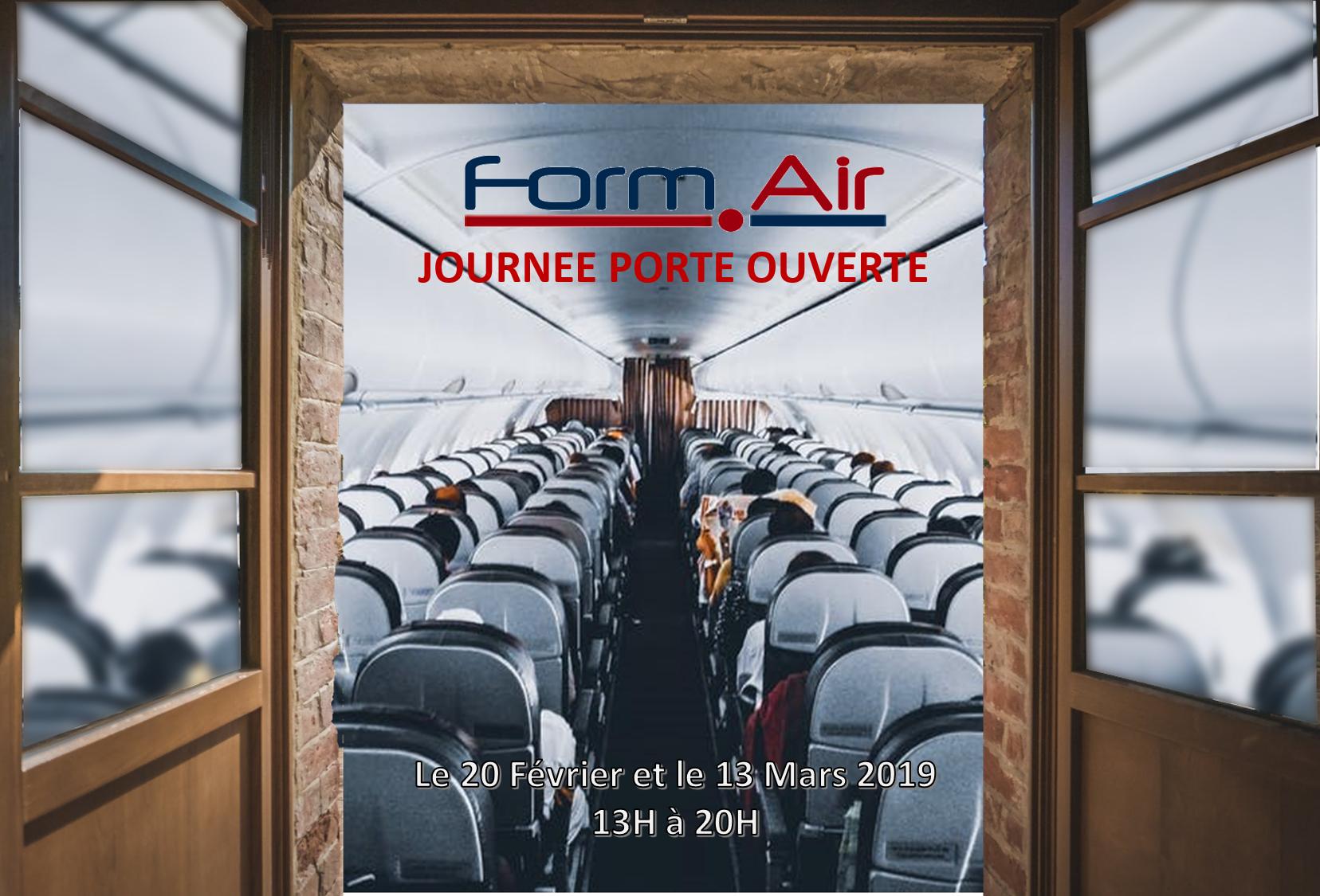 Portes ouvertes en mars 2019 chez Formair