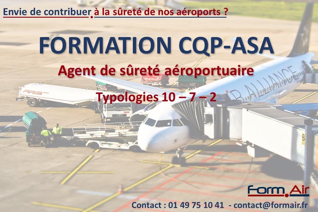 Formation CQP ASA